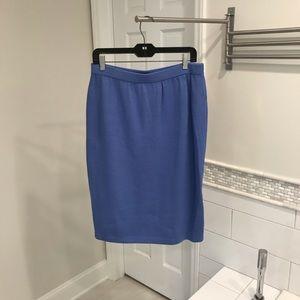 St. John - Blue Pencil Skirt Sz 12